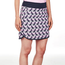 NI9210620 Nivo Women's Ava Navy Patterned Skort Product Image Side