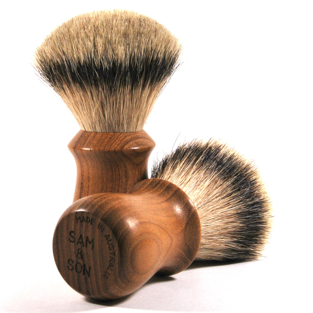Luxury Badger Shaving Brush Australia; Gentleman's Gift