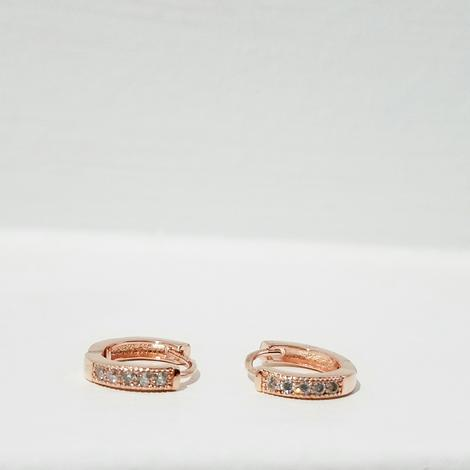 rose gold hoop earrings, rose gold jewelry, rose gold hoops, rose gold, rose gold diamond earring, pink hoops, tiny rose gold huggie hoops, rose gold accessories, rose gold ear climbers, rose gold ear cuff