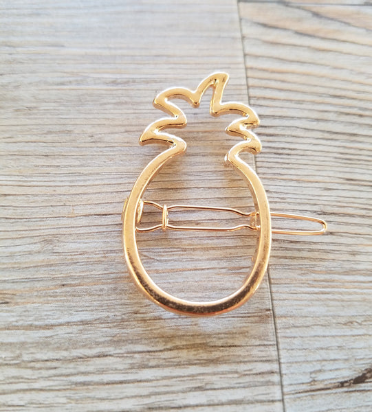 Gold Mini Pineapple Hair Pin