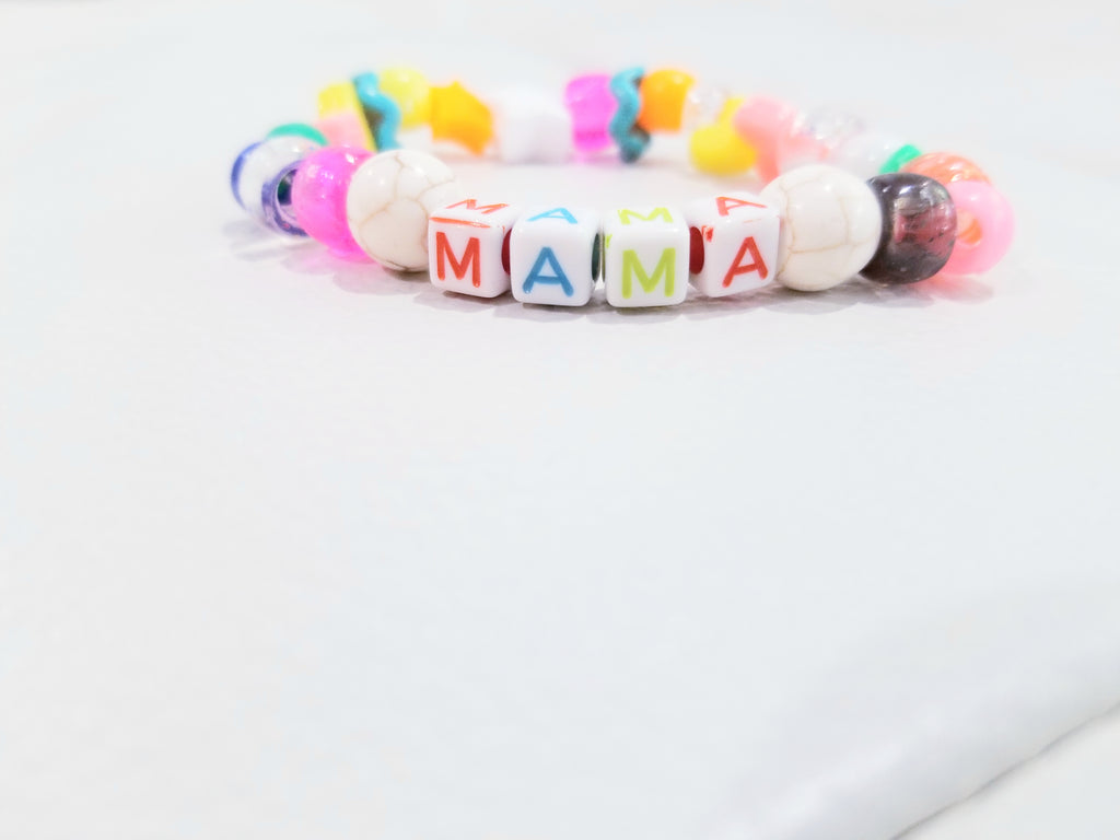 unique handcrafted beaded letter name bracelet, handmade beaded name bracelets, letter bead jewelry, customized name bracelet, personalized childrens bracelets, personalized beaded name jewelry, beaded accessories, colorful beaded jewelry, rainbow bracelet, colorful beaded letter name initial bracelets, mama bracelet, mothers day gifts, mothers bracelets, handmade mom gifts, handmade mothers day gift, handcrafted jewelry, mama, mommy jewelry, pash jewels, pash, pashjewels