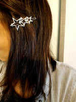 Silver Star Family Hair Pin