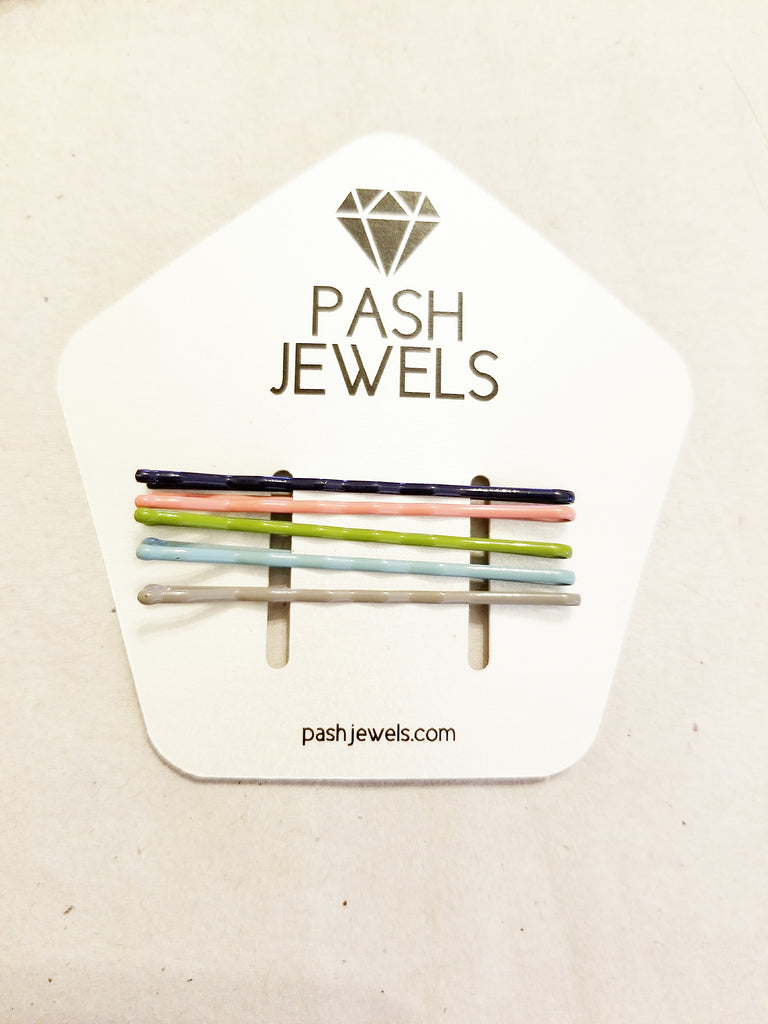 Assorted Pastel Bobby Pins