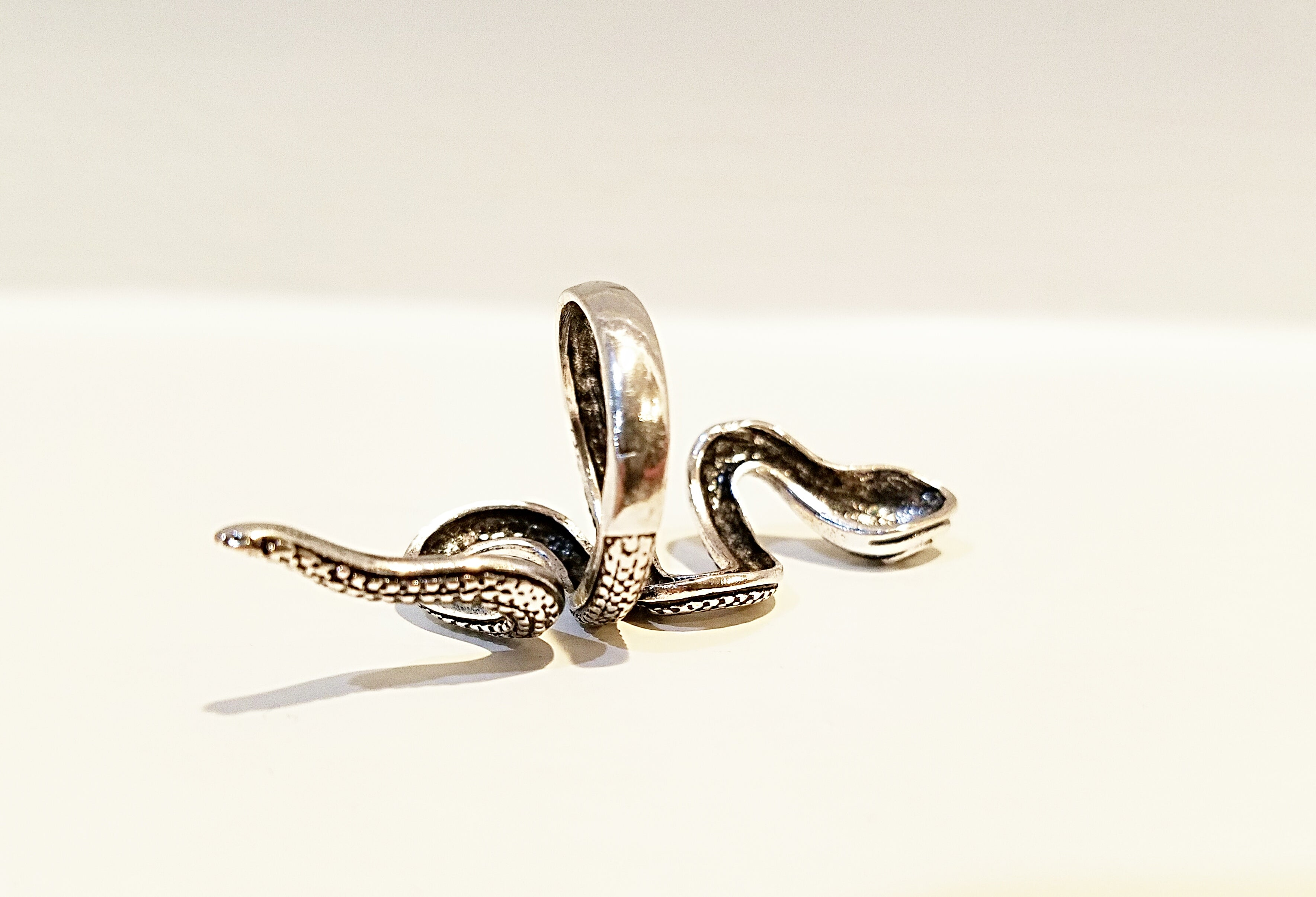 Snake Statement Wrap Ring