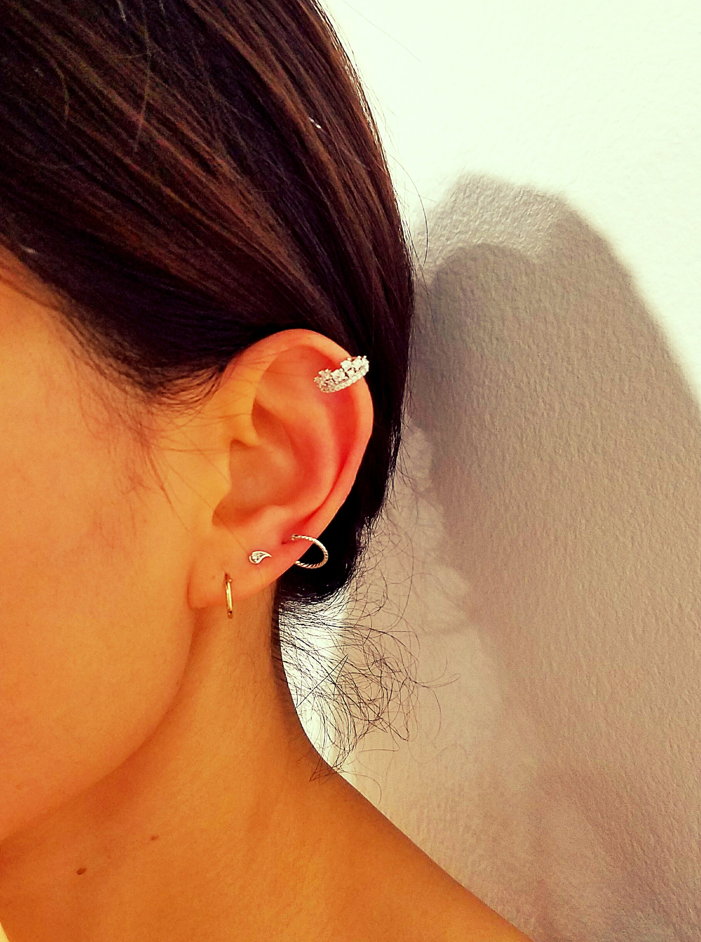 Mini Crown Ear Cuff