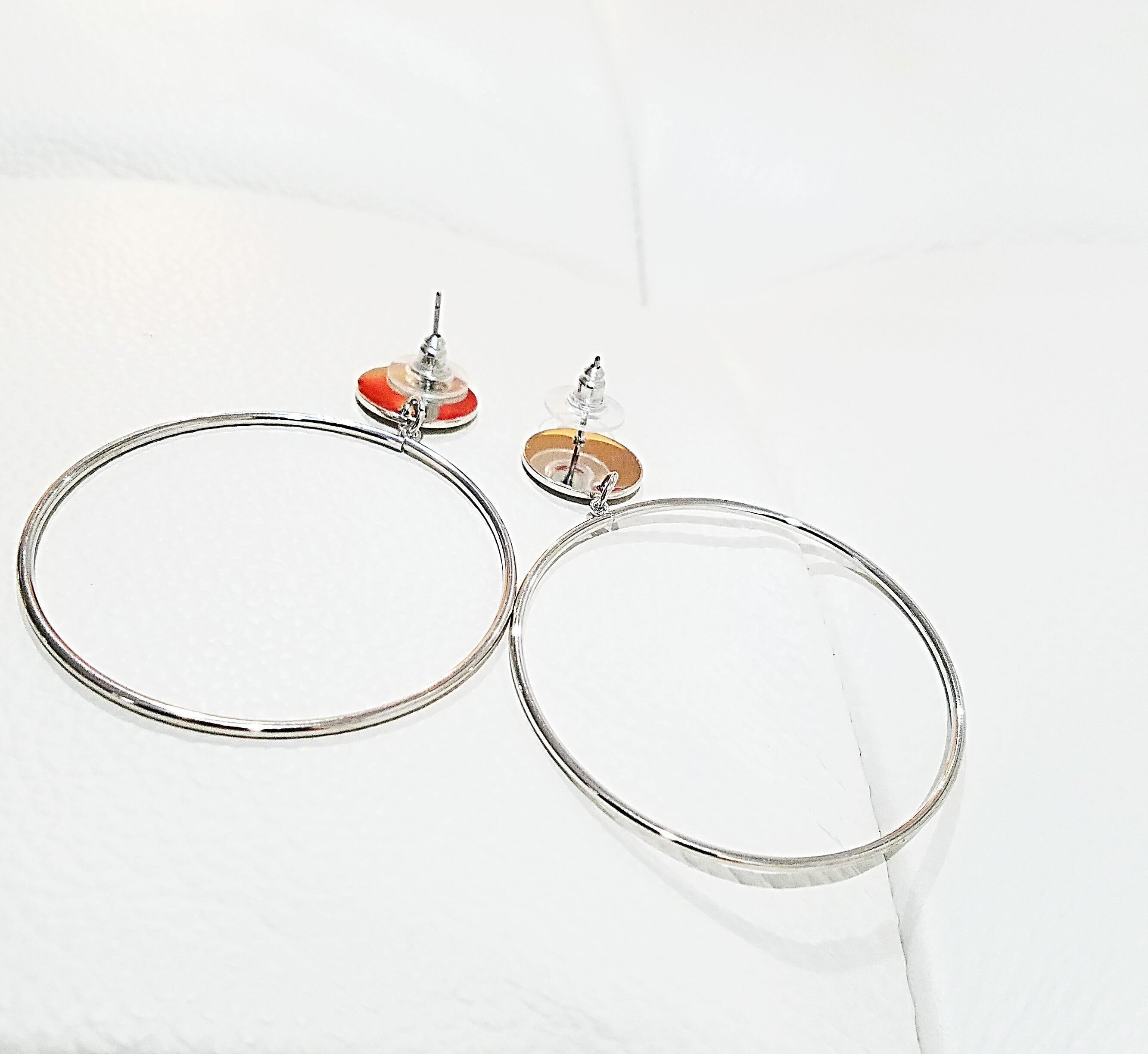 Bigger the Hoop Statement Earrings