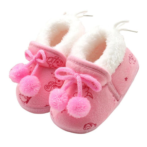 Bubba Princess Bowknot Winter Shoes