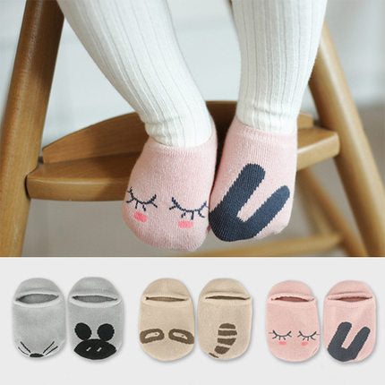Bubba Cute Asymmetric Cartoon Baby Socks