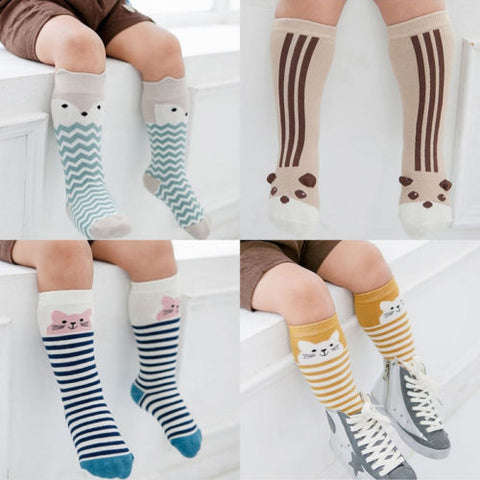 Bubba 3D Animal Pattern Anti-slip Knee High Socks