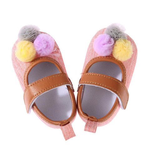 Bubba Cute Pom Pom Shoes