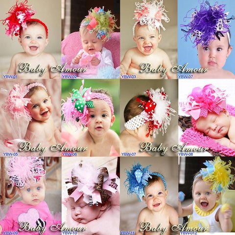 Bubba Baby Girl Headbands