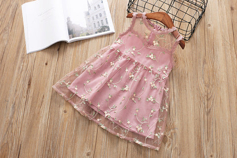 Bubba Embroidery Princess Summer Dress