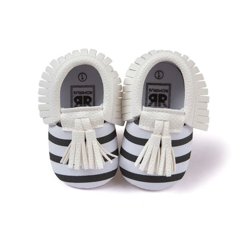 Bubba PU Leather Tassel Shoes