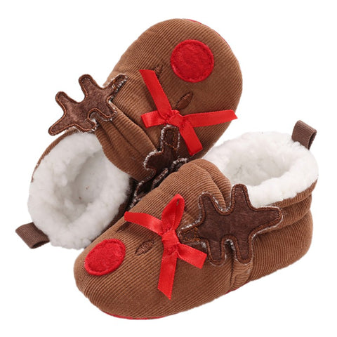 Christmas Cute Baby Shoes