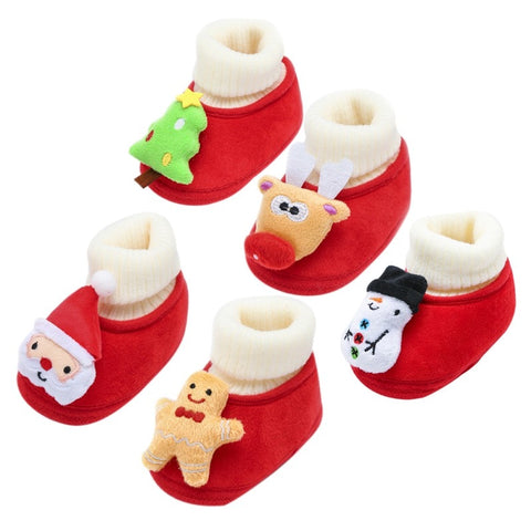 Christmas Fluffy Shoes