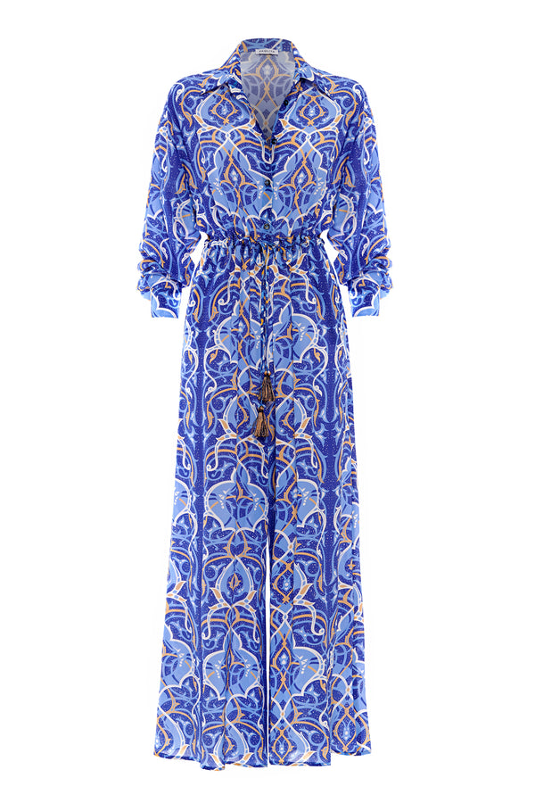 Arabian Nights Silk Boiler Suit