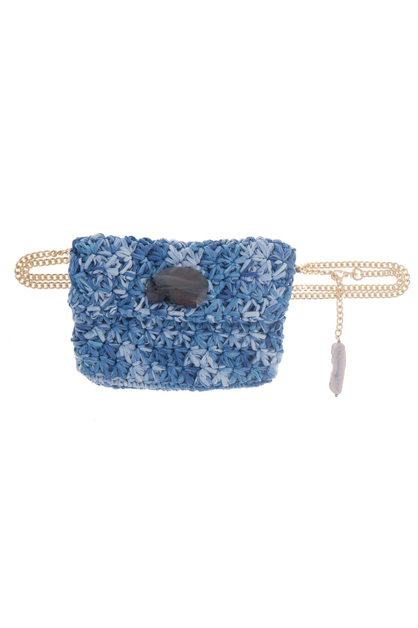 Artisun Blue Mini Belt Bag