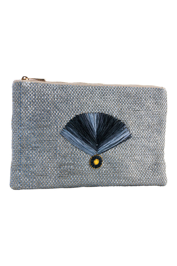 Artisun Grey Fan Pouch