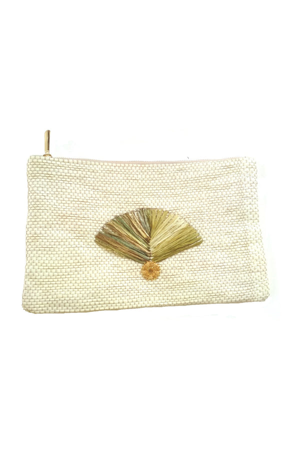 Artisun Off White Fan Pouch