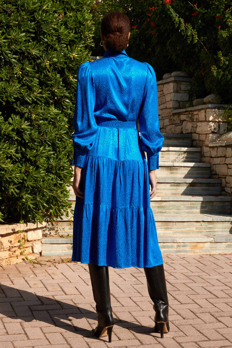 Blue Farrow Dress