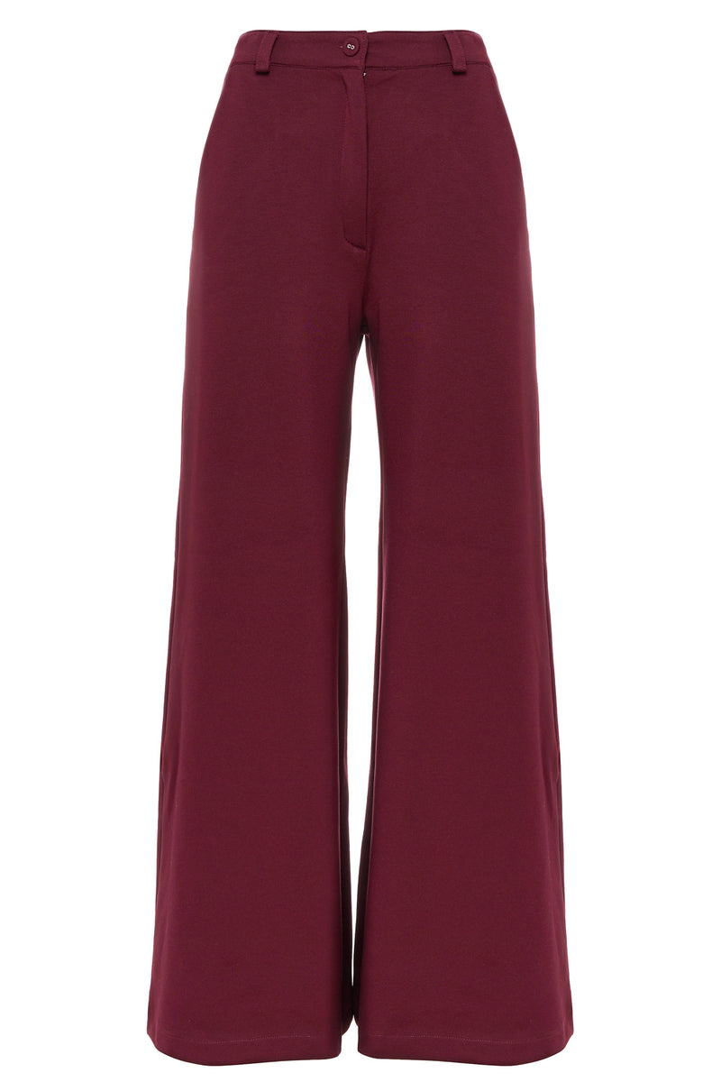 Bordeaux Farrah Trousers