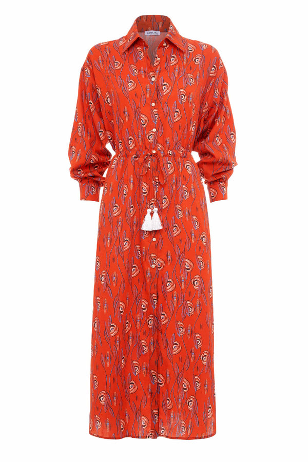 Efterpe Midi Shirt Dress