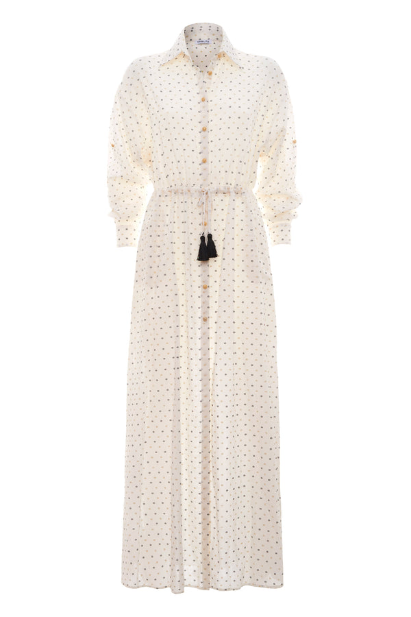 Urania Maxi Shirt Dress