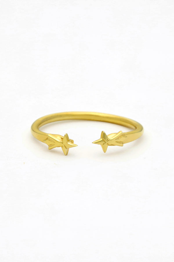 Wolf & Gypsy Shooting Star Ring