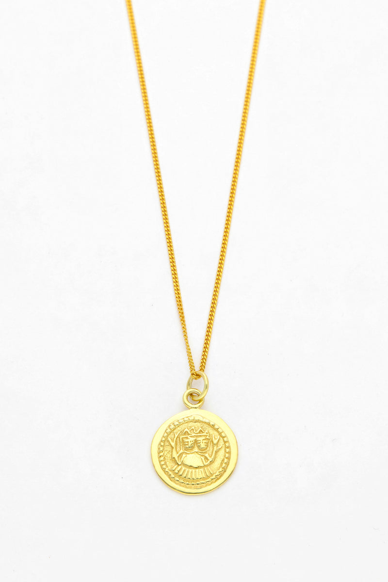 Wolf & Gypsy Two Sister Coin Necklace