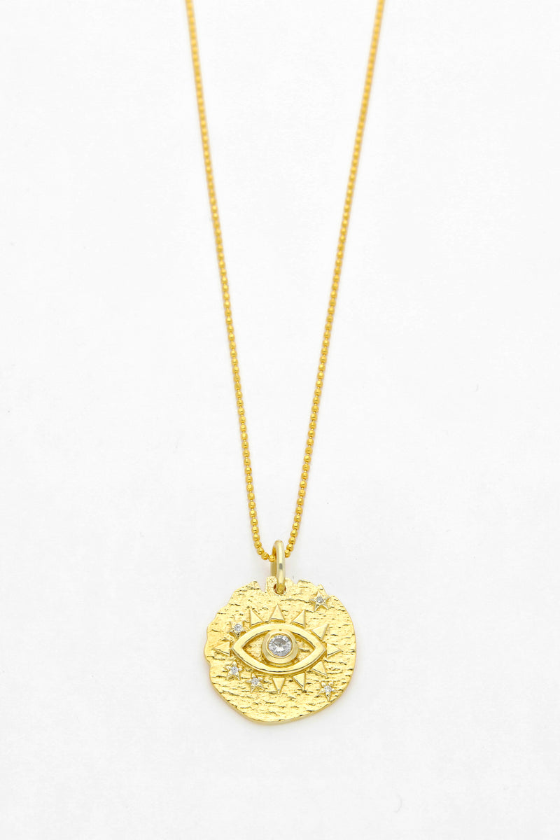 Wolf & Gypsy Evil Eye Necklace