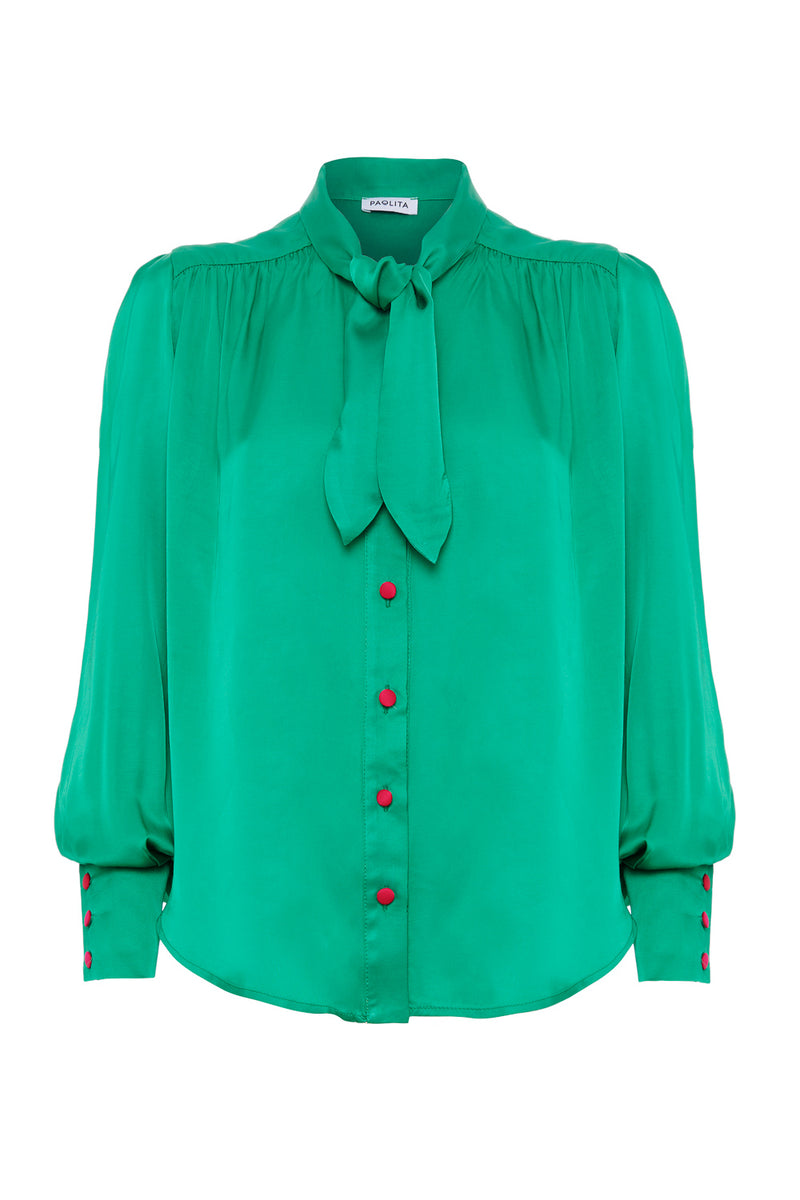 Green Patti Shirt