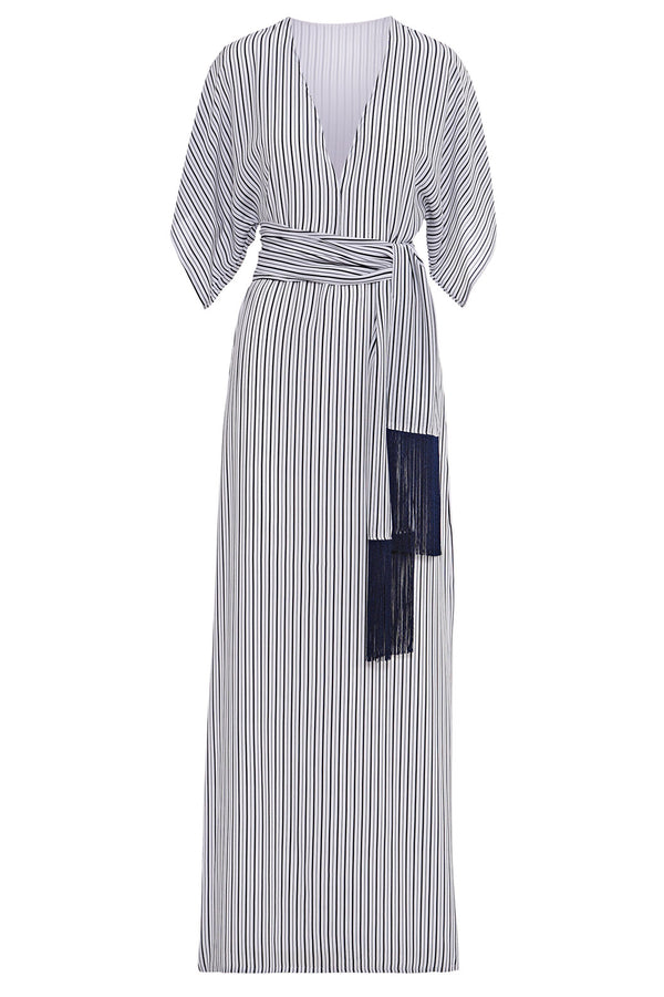 Voyage Navy Maxi Dress