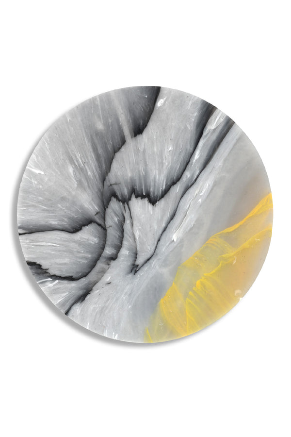 Weez & Merl Birch Lemon Coaster