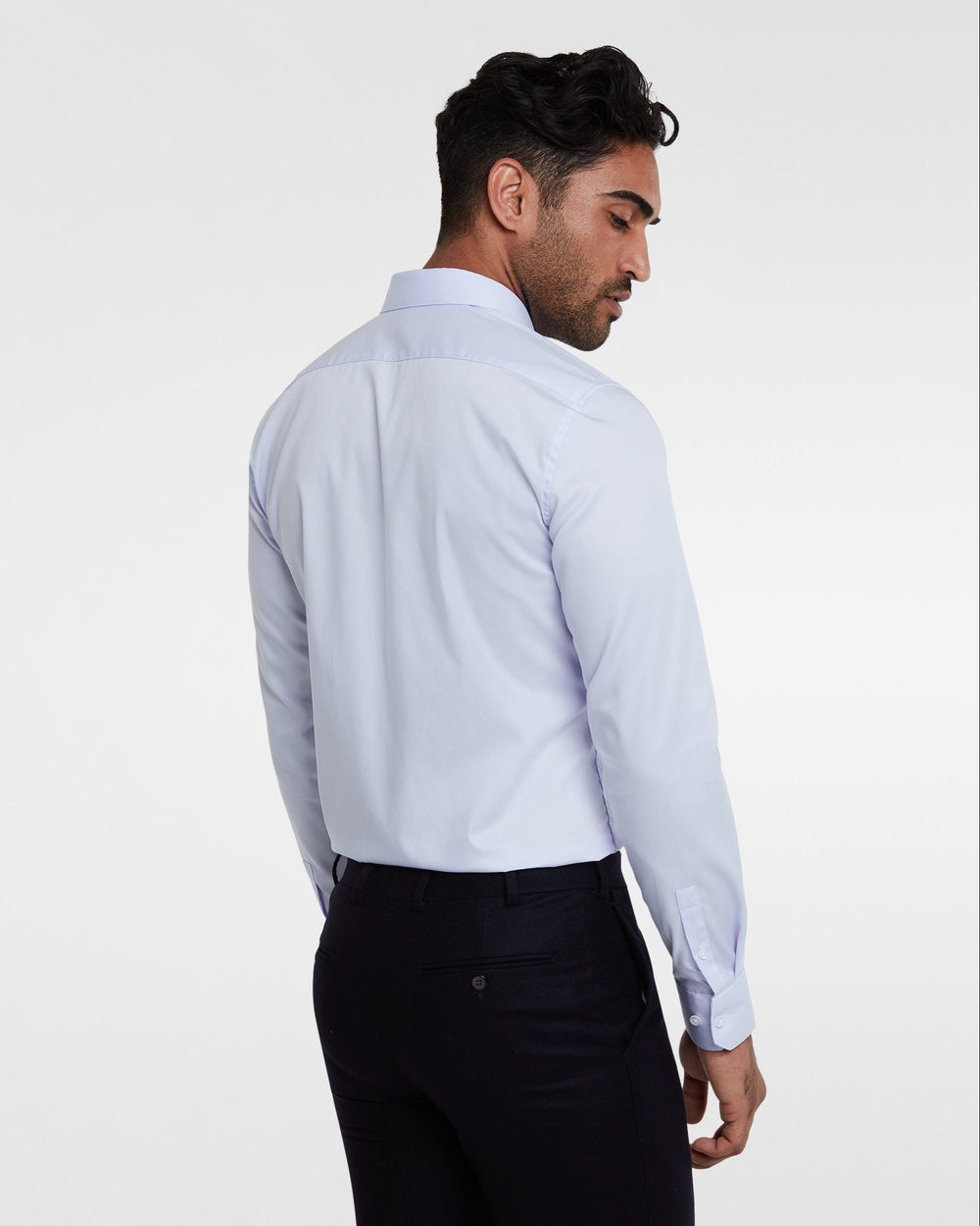 Business shirt blue wrinkle-free