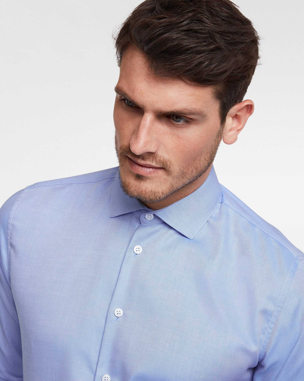 Business shirt premium blue wrinkle-free