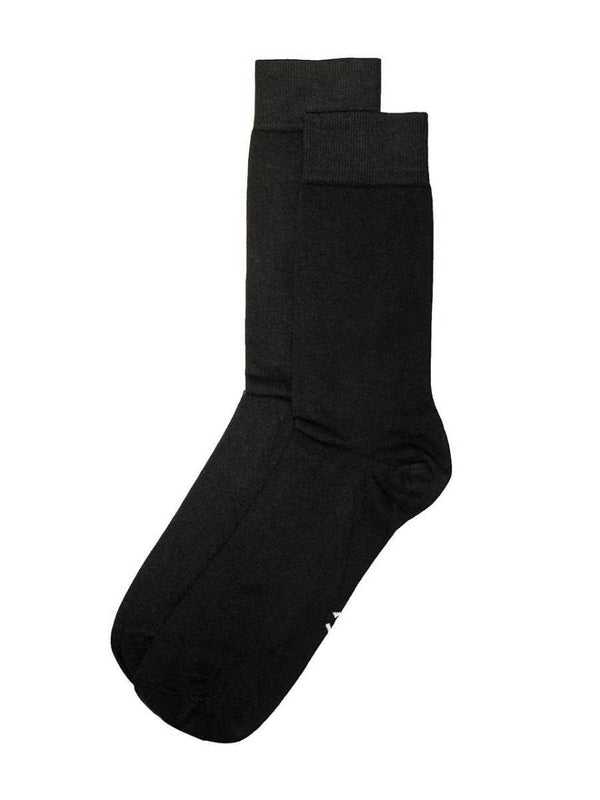 Antibacterial socks in black - LABFRESH