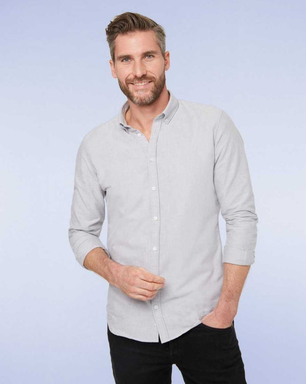 Casual shirt grey - LABFRESH