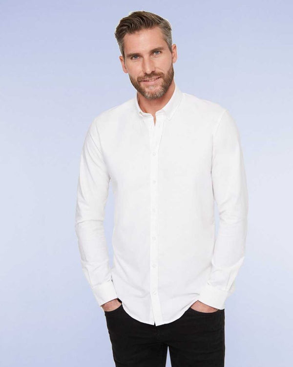Casual shirt white - LABFRESH