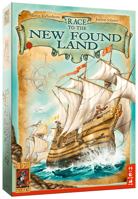 New in stock: Race to the New Found Land
