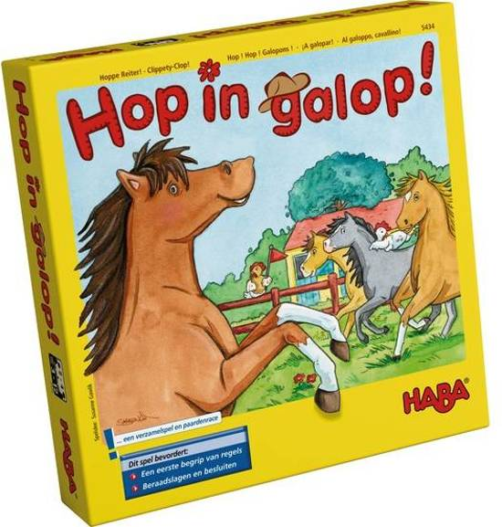 Hop in galop! - Game Potion