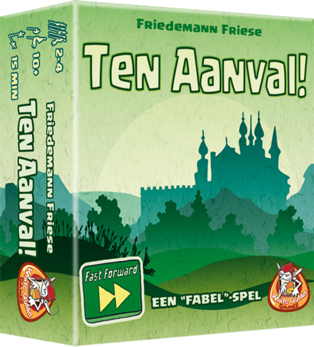 Fast Forward: Ten aanval! - Game Potion
