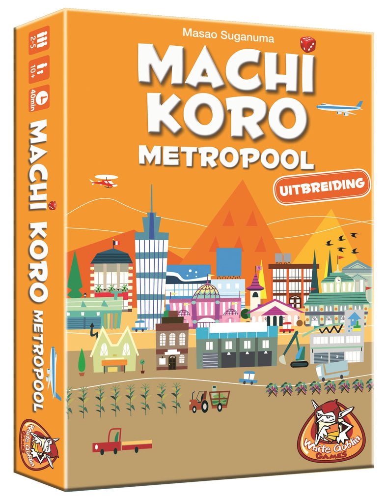 Machi Koro: Metropool - Game Potion