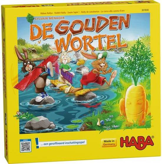 De gouden wortel - Game Potion