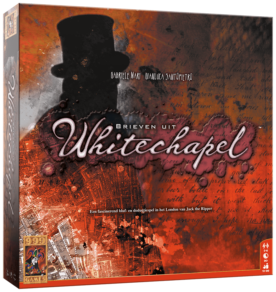 Brieven uit Whitechapel - Game Potion