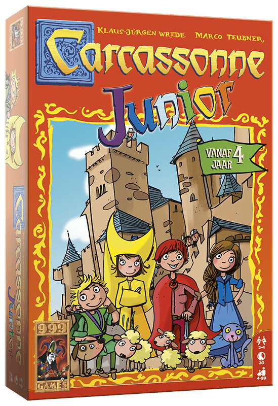Carcassonne Junior - Game Potion