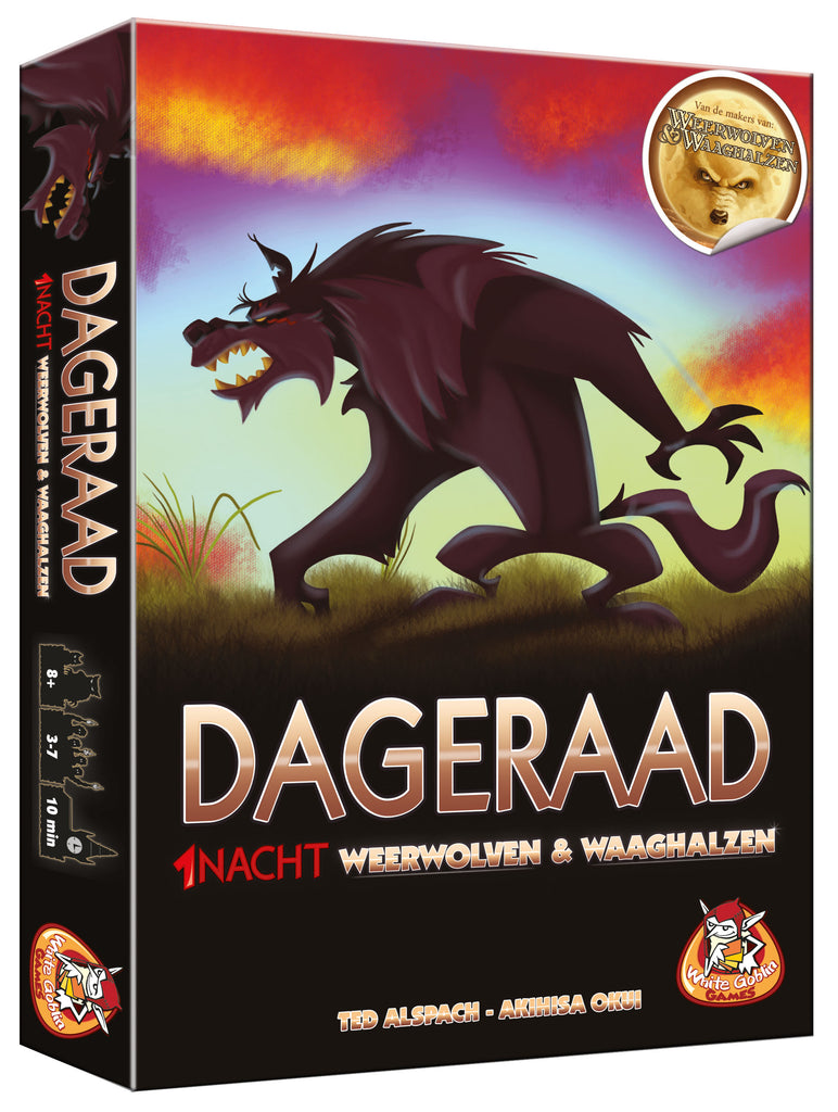 1 Nacht Weerwolven & Waaghalzen: Dageraad - Game Potion