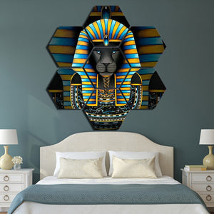 Modern Wall Art Home Decor 7 Panels Sphinx HD Printed Painting | http://chicboutique.com.au