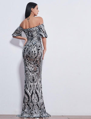 Luxury Evening Strapless with Sweetheart Neckline Long Dress