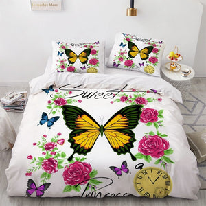 Luxury Duvet Quilt Cover Bedding Set Assorted Prints available