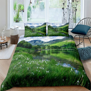 Beautiful Scenery Bedding Set Duvet Cover With Pillowcases